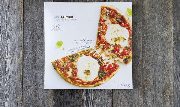 Mozzarella, Pesto, & Sundried Tomato Pizza (Frozen)
