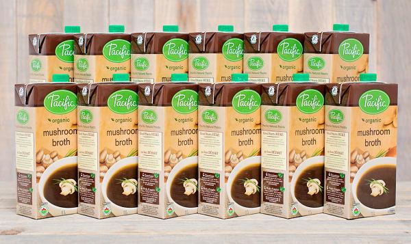 Organic Mushroom Broth - CASE