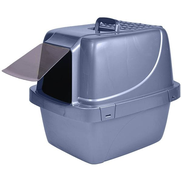 Enclosed Sifting Litter Pan - 21x17x19
