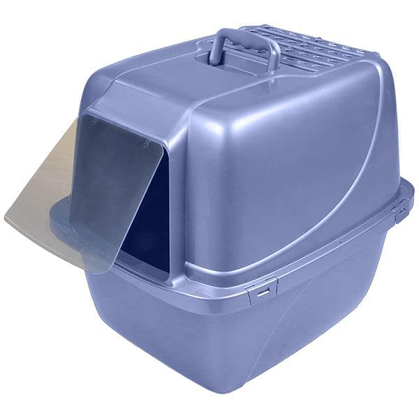 Enclosed Litter Pan - 22x16x18