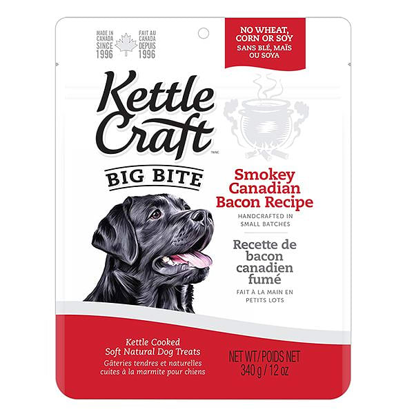 Smokey Canadian Bacon Big Bite Dog Treats