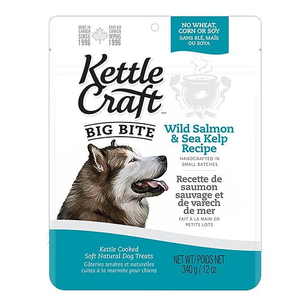 Salmon & Sea Kelp Big Bite Dog Treats