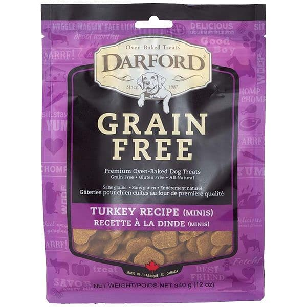 Grain Free Turkey Mini Dog Treats