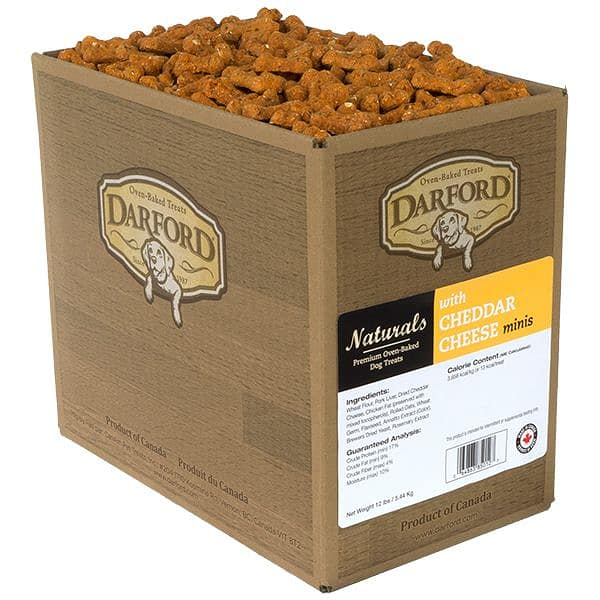 Cheddar Cheese Mini Dog Treats