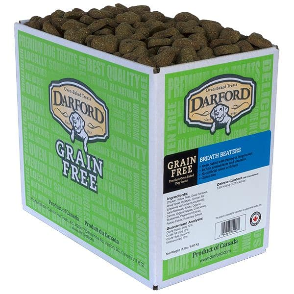 Grain Free Breath Beaters Dog Treats