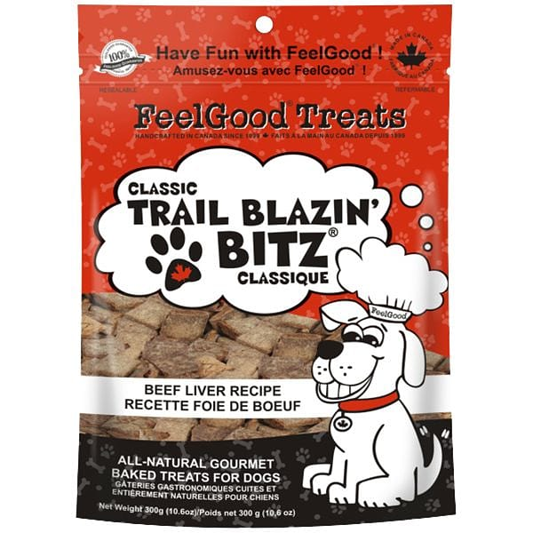 Classic trail Blazin' Bitz - Beef Liver Dog Treats