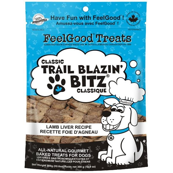 Classic trail Blazin' Bitz - Lamb Liver Dog Treats