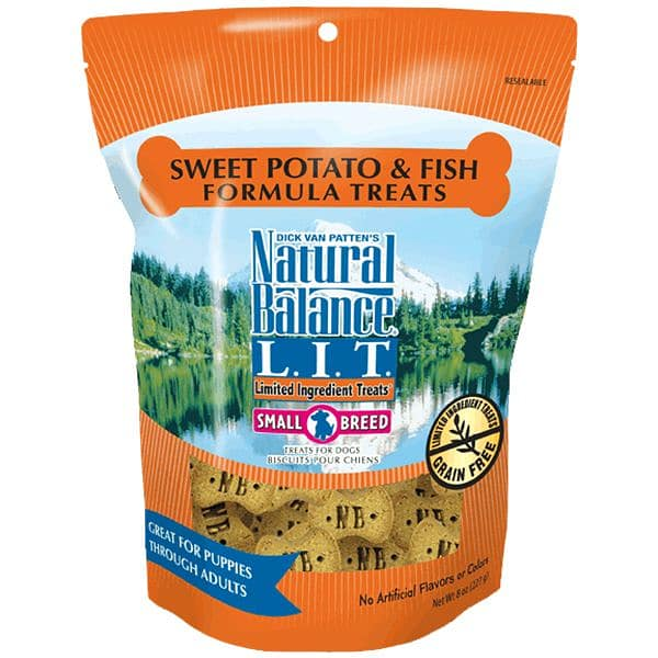 Small Breed Limited Ingredient Treats: Fish & Sweet Potato Dog Treats
