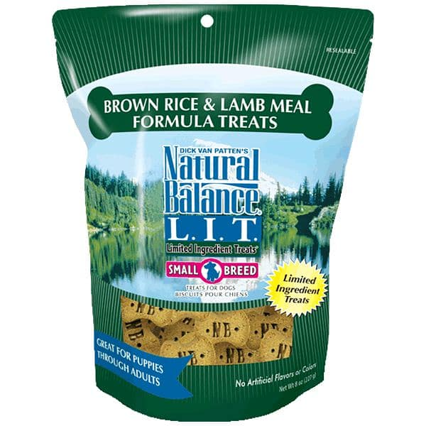 Small Breed Limited Ingredient Treats: Lamb & Brown Rice Dog Treats