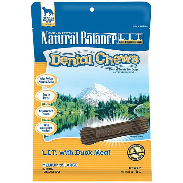 Limited Ingredient Treats: Duck Dental Chews - Medium to Large Breed