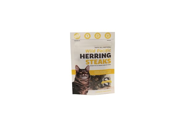 Herring Strips for Cats