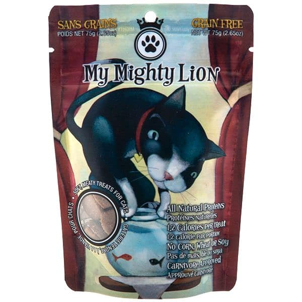 My Mighty Lion - Salmon-licious Cat Treats
