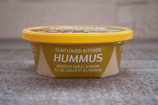 Roasted Garlic and Onion Hummus