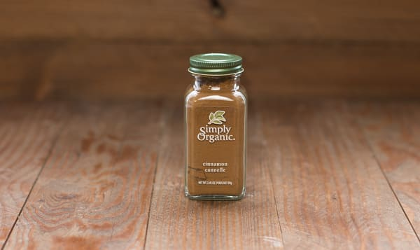 Organic Cinnamon, Ground in Glass Bottle