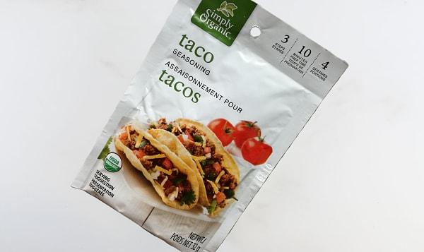 Organic Taco Seasoning