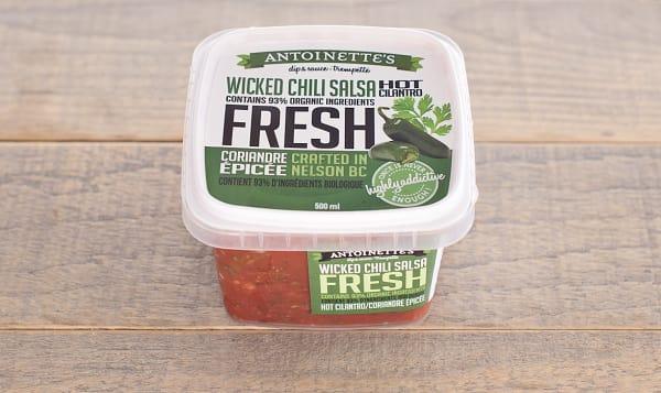 Hot Cilantro- Wicked Chili Salsa