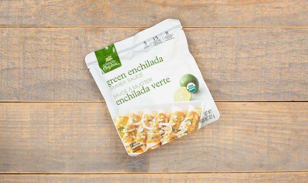 Organic Simmer Sauce - Green Enchilada