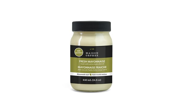 Fresh Mayonnaise with Extra Virgin Olive Oil