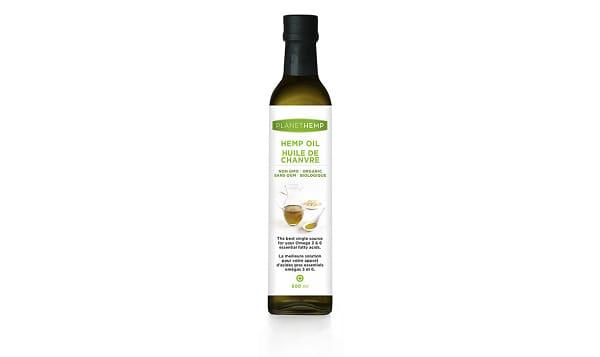 Organic Hemp Oil - Cold Pressed