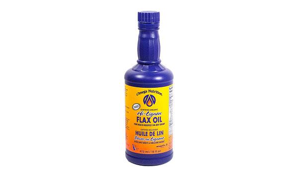 Organic Hi-Lignan Flax Seed Oil