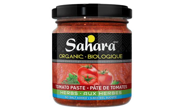Organic Herb Tomato Paste