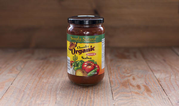 Organic Chunky Salsa, Medium
