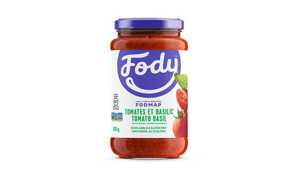 Tomato Basil Sauce - Low FODMAP!