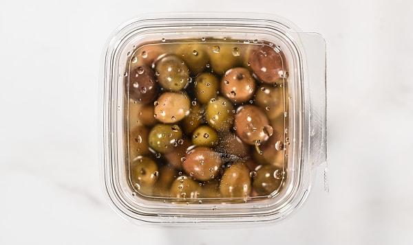 Sicilian Hot Mixed Olives