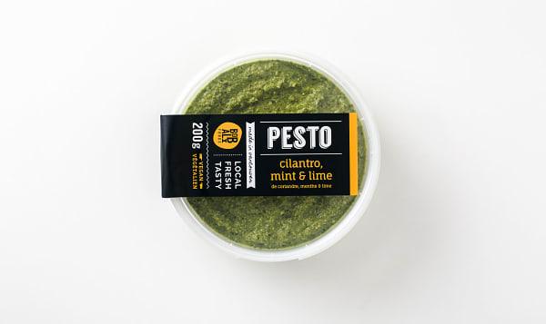 Cilantro, Mint & Lime Pesto
