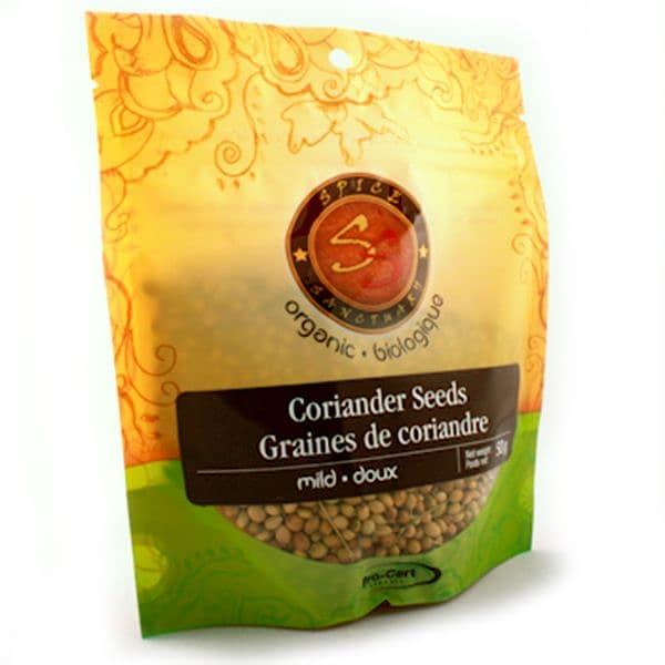 Organic Coriander Seeds, Powder