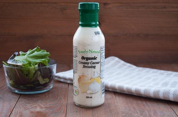 Organic Creamy Caesar Dressing