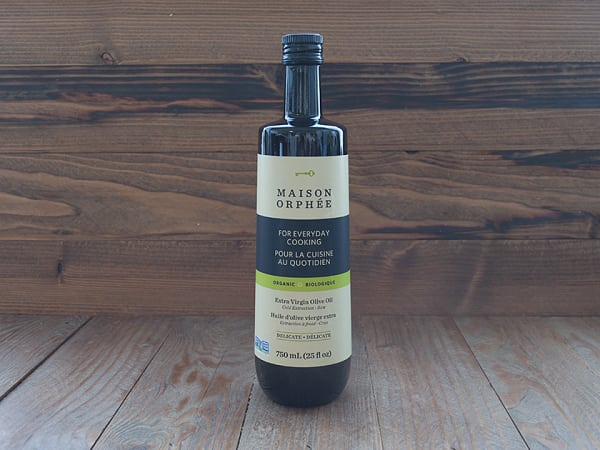 Organic Delicate Extra Virgin Olive Oil