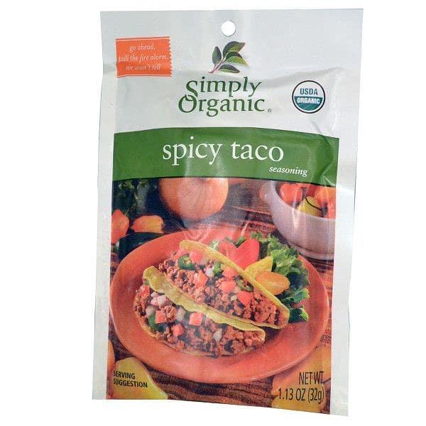 Organic Spicy Taco Seasoning Mix