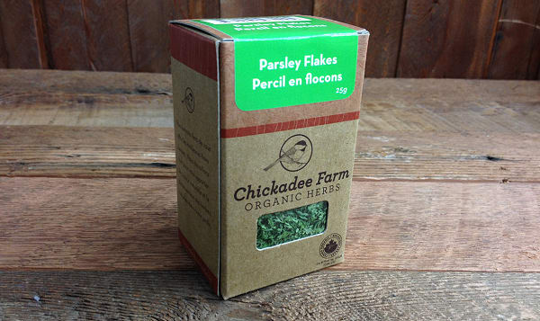 Organic Parsley Flakes