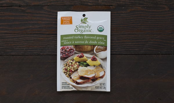 Organic Roasted Turkey Gravy Mix