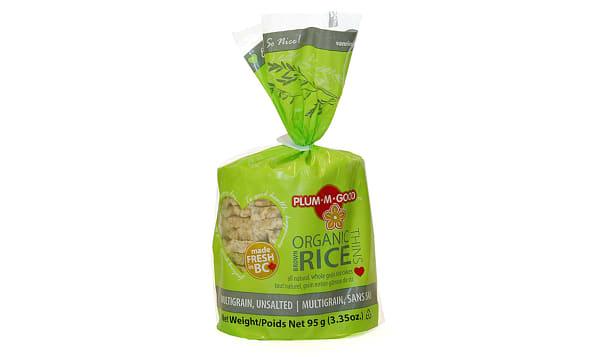 Organic Brown Rice Thins Multigrain Unsalted