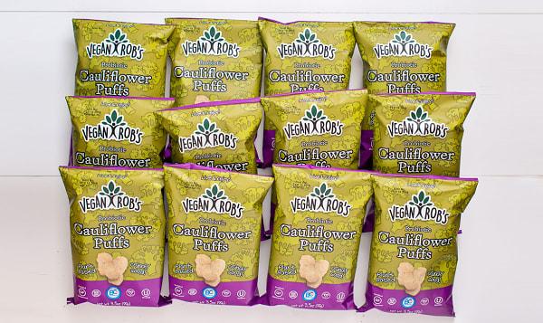 Probiotic Cauliflower Puffs - CASE