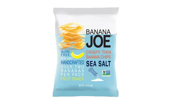 Sea Salt, Crispy thin Layer Banana Chips