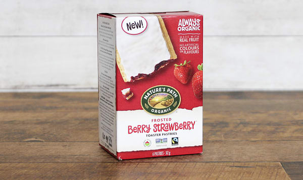Organic Berry Strawberry Toaster Pastries
