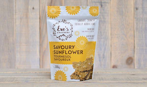 Savoury Sunflower Crackers