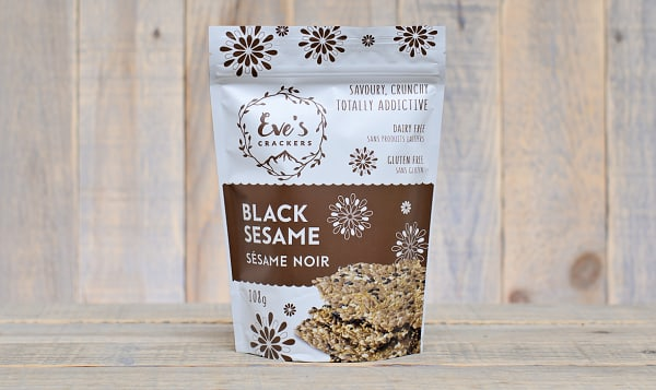 Black Sesame Crackers