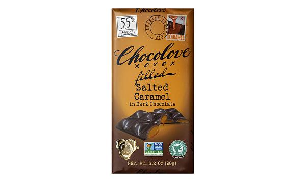 Chocolate Bar - Salted Caramel 55%