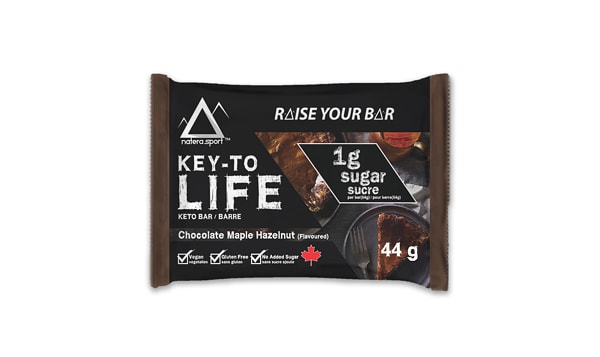 Keto Bar - Chocolate Maple Hazelnut