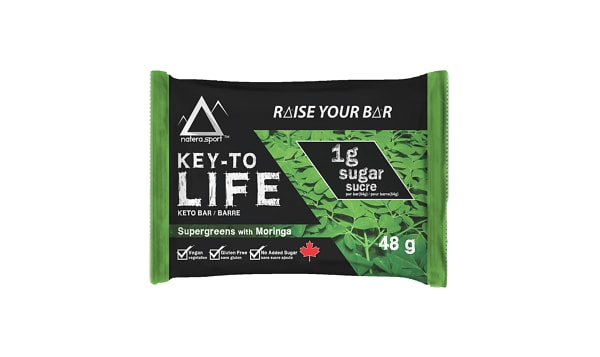 Keto Bar - Supergreens with Moringa
