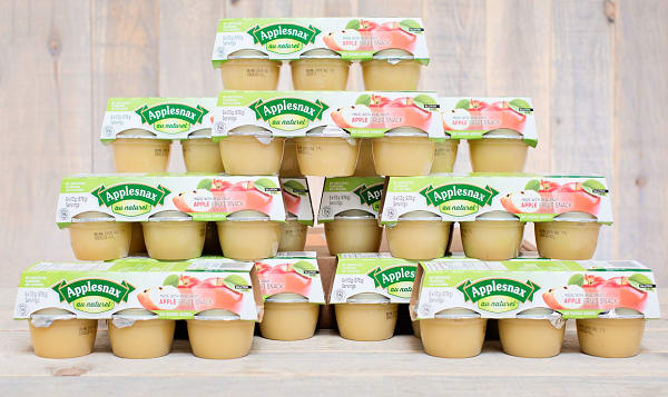 Unsweetened Apple Cups - CASE