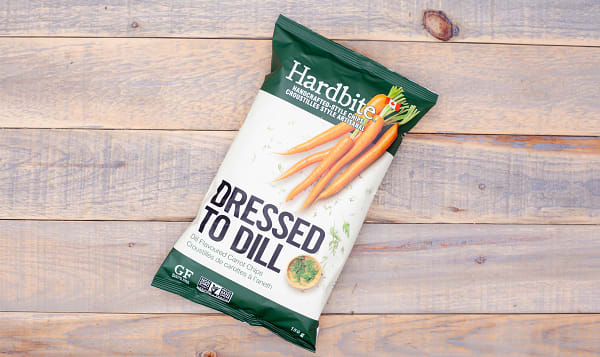 Dressed to Dill Carrot Chips