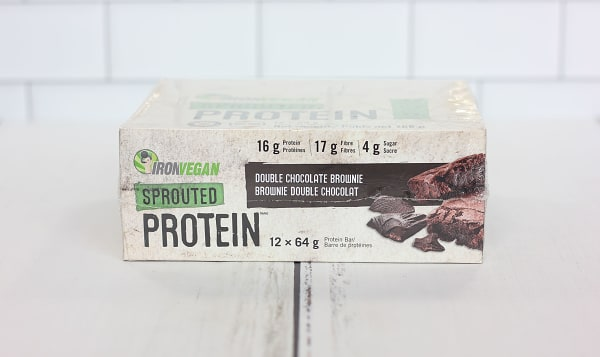 Sprouted Protein Bar - Double Chocolate Brownie - Case
