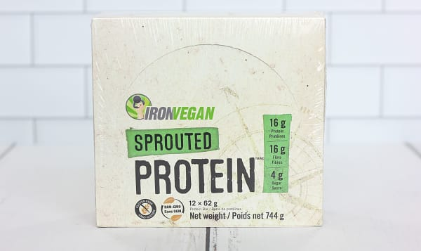 Sprouted Protein Bar - Sweet and Salty Caramel - Case