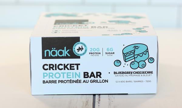 Cricket Protein Bar - Blueberry Cheesecake