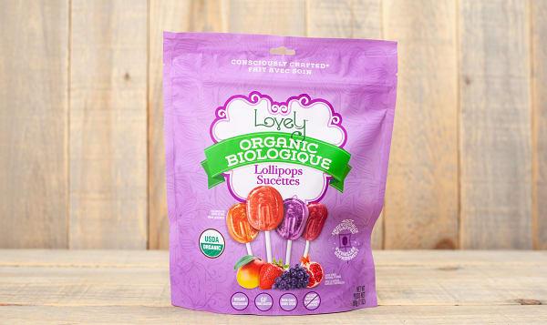 Organic LOLLIPOPS